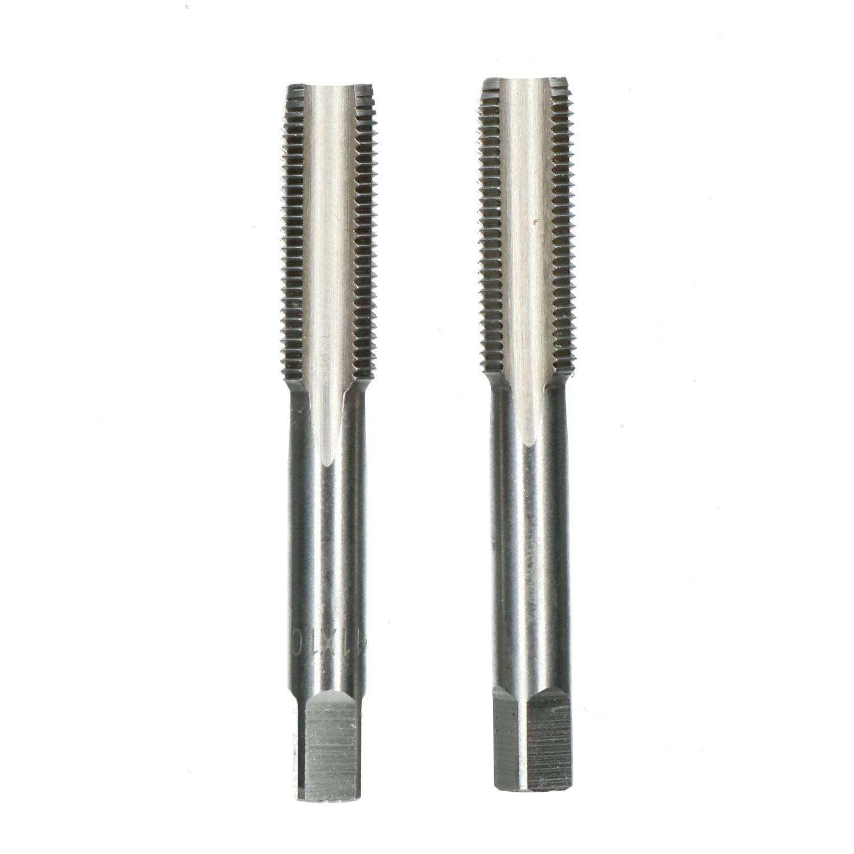 de conicit/é et bouchon coupe fil TD016 M11 x 1mm Jeu de tarauds m/étriques lacier de tungst/ène