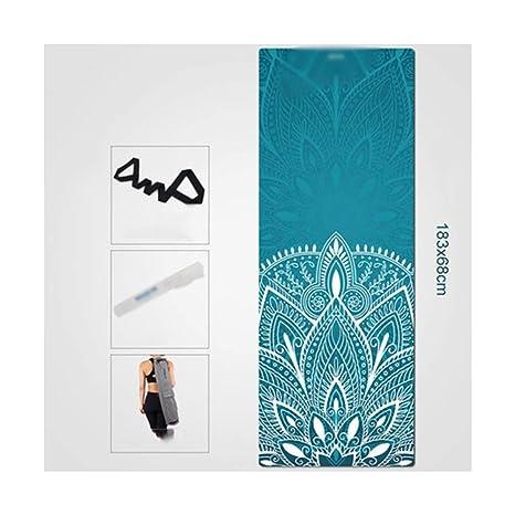KYCD Colchonetas de Yoga, Grandes, Acolchadas y de asa para ...