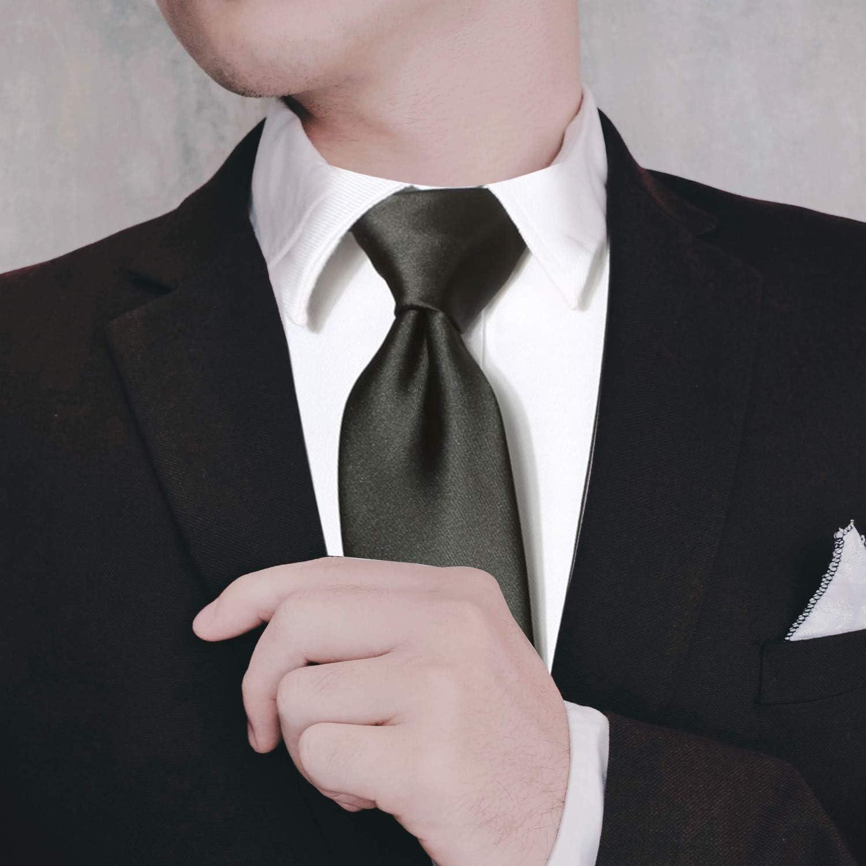 Trimming Shop Corbata Poliéster Suave Para Ropa Formal, Bodas, Graduación, Celebración, Fiestas, Unisex Diseño Clásico - Naranja, 5cm Width