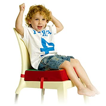 Lalawow Kids Chair Booster Pad Sturdy Oxford Dismountable Adjustable Kids  Dining Chair Booster Comfortable Cushion Easy