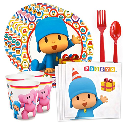 Costume SuperCenter Pocoyo Standard Tableware -