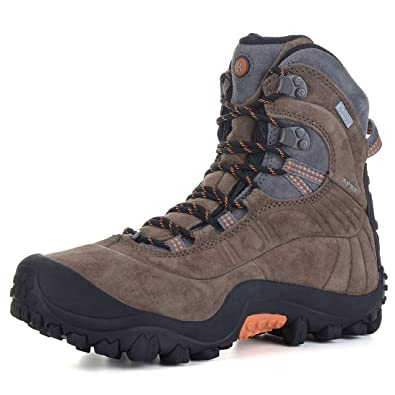 e7bf4f181dd XPETI Men's Thermator Evo Mid High-Top Waterproof Leather Hiking Outdoor  Boot