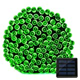 inst led panel light - Lightahead® 200 LED Solar Christmas Lights 22 meter (72 feet) Outdoor Garden Solar Powered String Lights Waterproof GREEN)