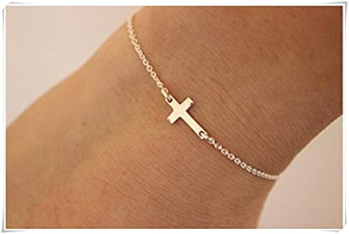 cross with designsbycrissi etsy christening shop amazing initial white crystals and personalized bracelet pink beautiful pearls baptism on deal colors any charm