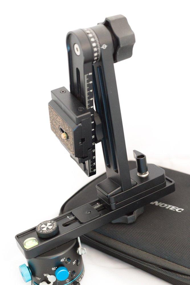 Nodal Ninja r1調節可能な角度調整リングクランプスタイルパノラマ三脚ヘッド – Fits Sigma 4.5 MM Nikonレンズリング   B003TGB0MO