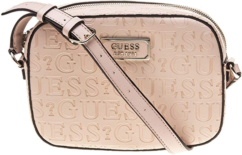 Kamryn Crossbody Bag Top Zip White