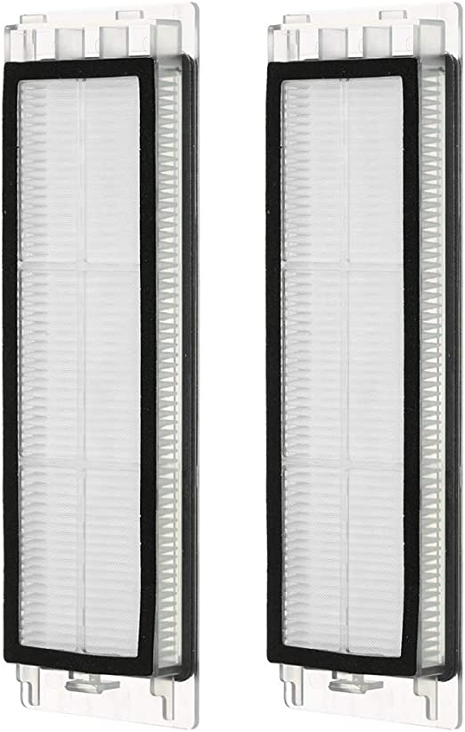 Decdeal Pack de 2 HEPA Filtros para Xiaomi Mi Vacuum Kit Replacement Accessories para Mi Vacuum Repuestos para Xiaomi Mi Robot Aspirador: Amazon.es: Hogar