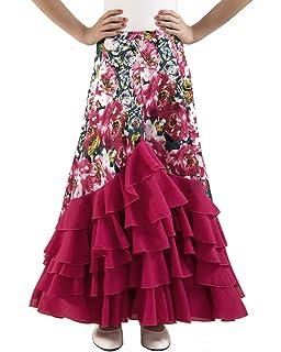 Doña Ana Falda Flamenca Señora Modelo Almendralejo Roja ...