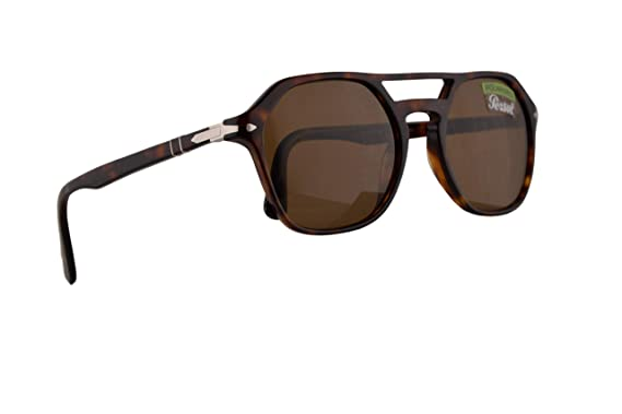 b3f4b3f89f898 Image Unavailable. Image not available for. Color  Persol PO3206S Sunglasses  Havana ...