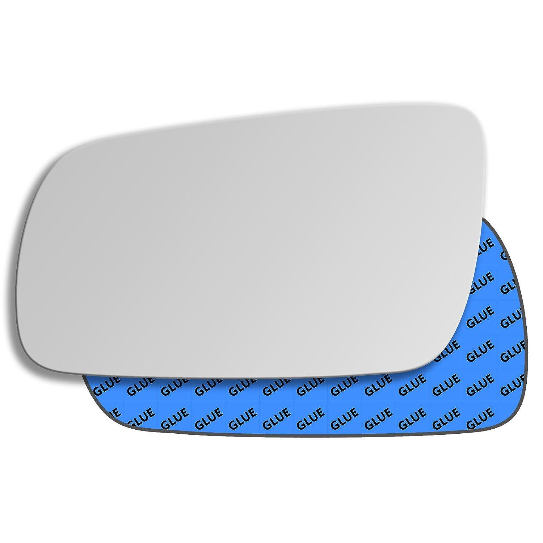 Hightecpl 1LS Left Passenger Side Convex Door Wing Mirror Glass