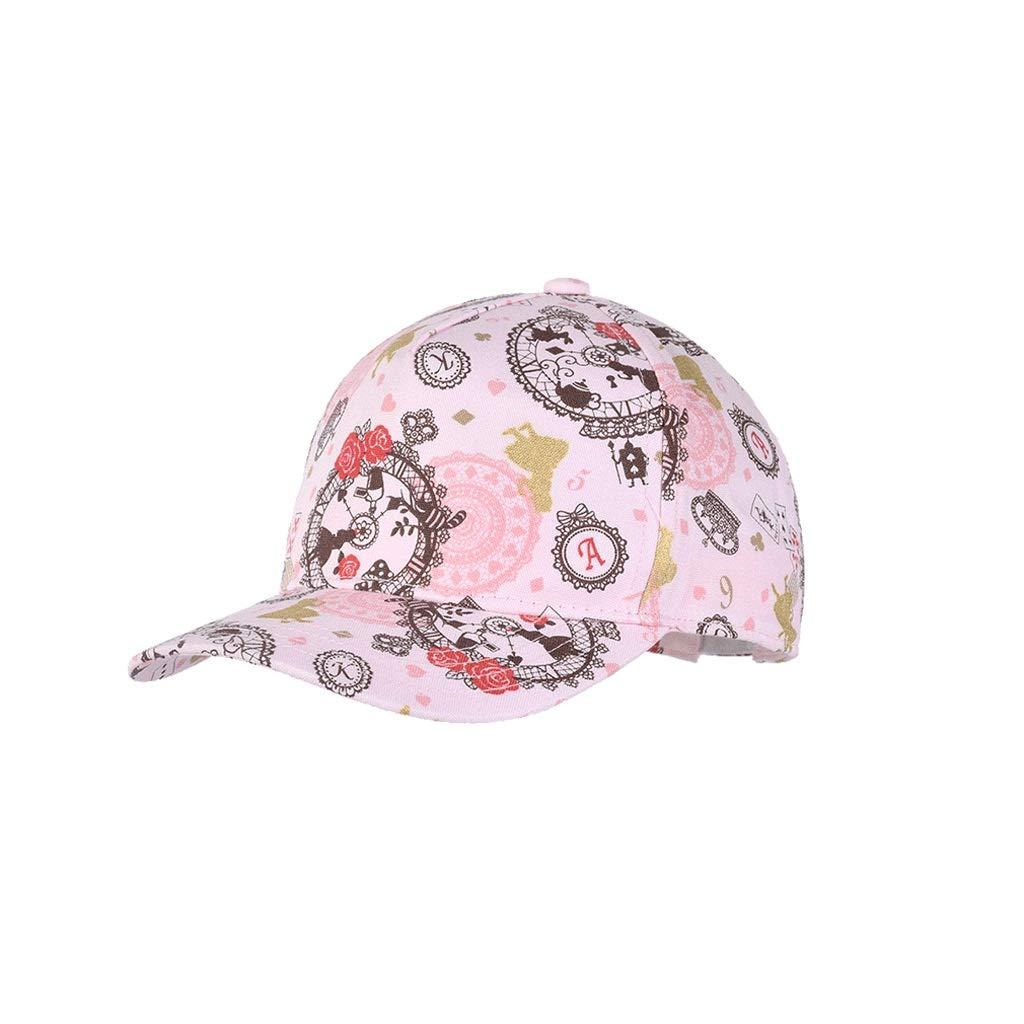Py Chapeau de Soleil 100% Coton 6-9 Ans Enfants Casquette de Baseball visière Mignon Chapeau d'été Chapeau de Soleil