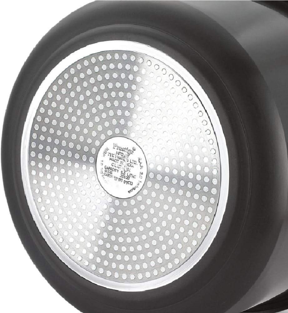 Autocuiseur Perstge en aluminium anodis/é dur Noir 2 l