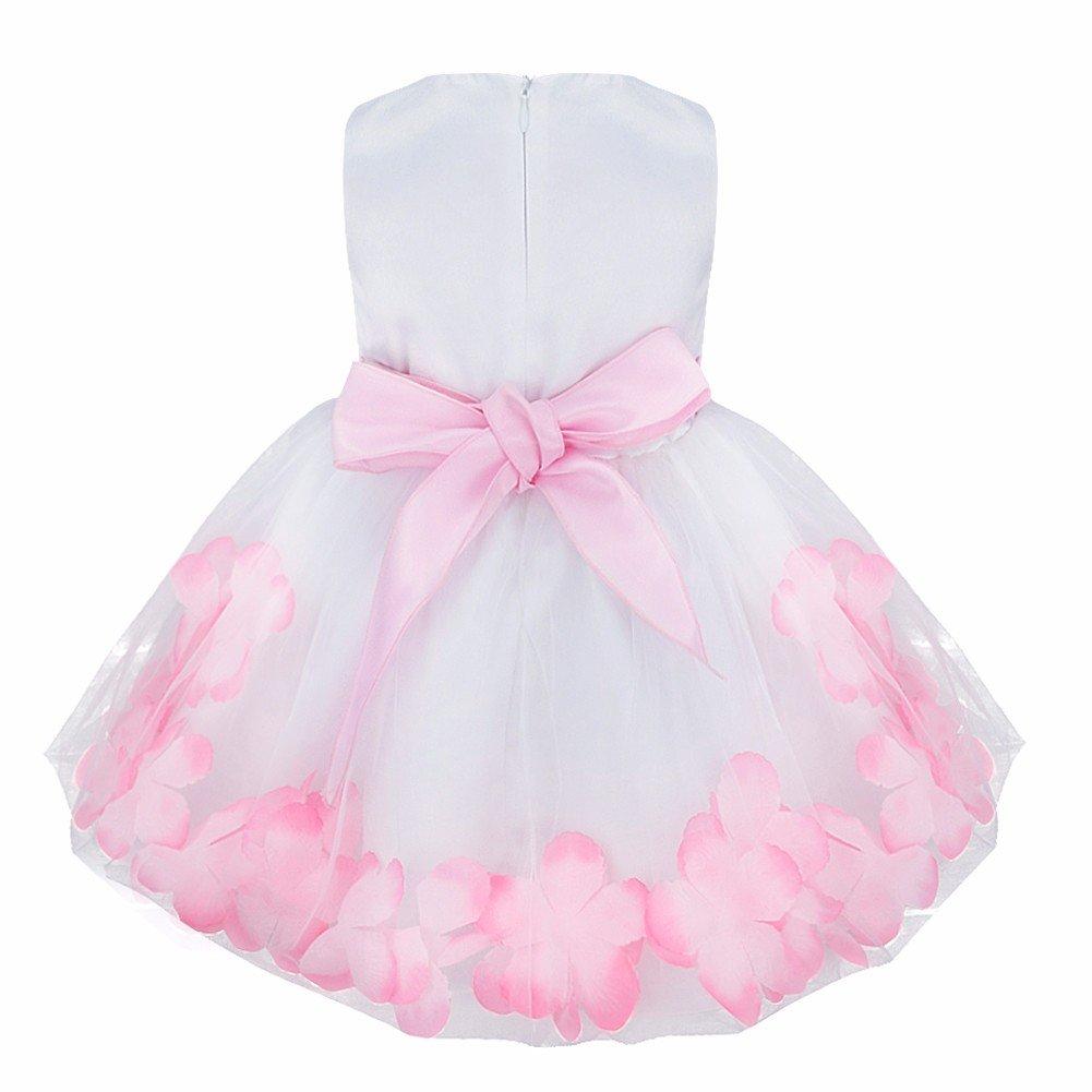 iiniim Vestido de Bebé para Bautizo para Bebé 0 a 24 Meses Vestidos de  Fiesta de. Ampliar imagen 9f9e490af5a1