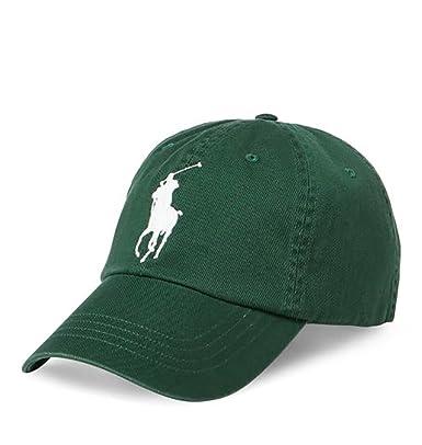 Ralph Lauren - Gorra de béisbol - para Hombre Verde Northwest Pine Talla única: Amazon.es: Ropa y accesorios