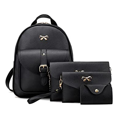 Image Unavailable. Image not available for. Color  Clearance Sale! 4 Sets  Women Girl Travel Backpack School Bag Shoulder Bag Handbag ... 6705037990436