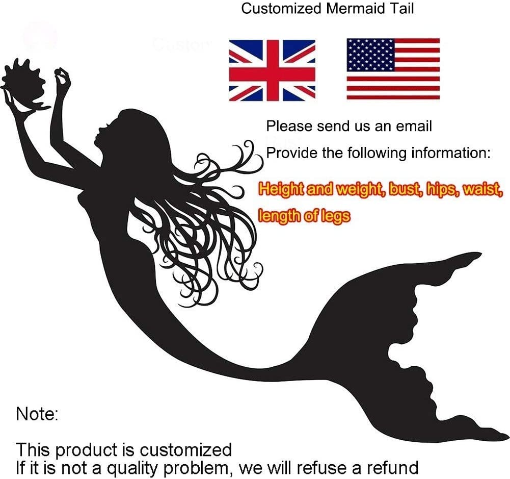 Girls Mermaid Tail, Girls Cosplay Costume Swimwear Mermaid Shell Swimsuit Bikini Sets, Gifts For Women(Color:Style H) Style H