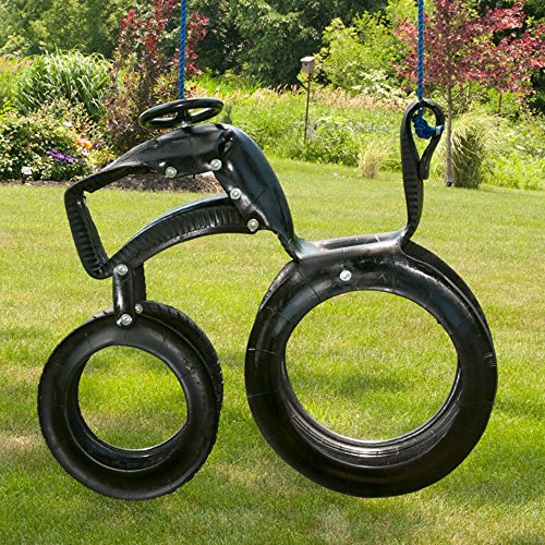 M & M Sales Enterprises Tractor Ride 'N Tire Swing (Tire Horse)