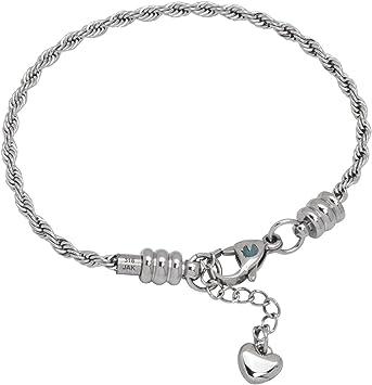 Wholesale Bulk Lots Charms Silver P Snake Chain Bangle Bead Bracelet Fit Chain