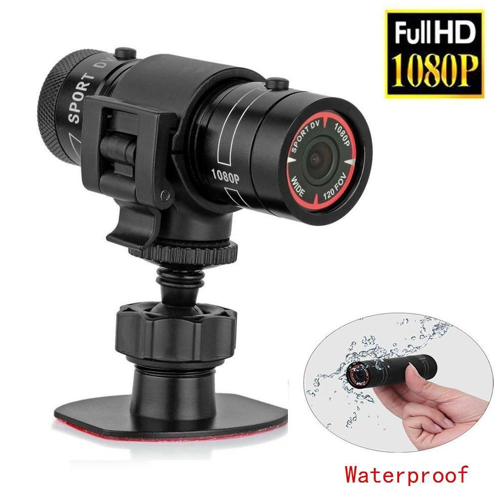 Hangang Mini 1080pフルHDスポーツカメラアクション防水スポーツヘルメットバイクヘルメットビデオカメラDVR AVIビデオビデオカメラサポート32 GB TFカードIdeal forスポーツ   B078NN26QN