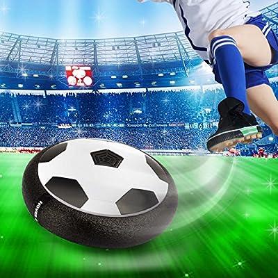 Elongdi Air Power Disco de fútbol, juguete de fútbol para niños ...