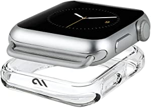 Case-Mate - Apple Watch Bumper Case - 42mm - NAKED TOUGH - Series 3 Apple Watch - Clear