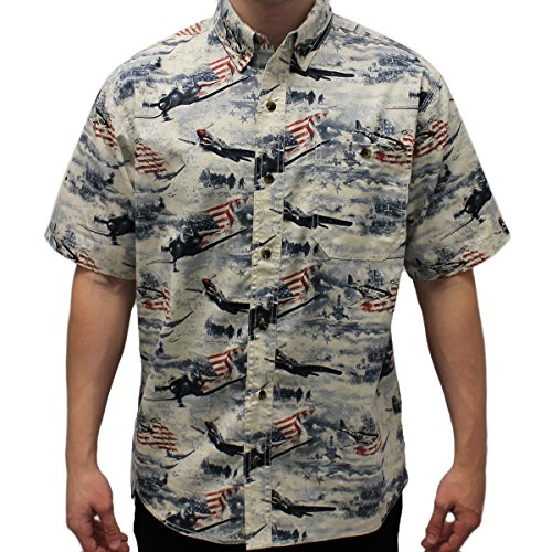 Men's WWII Woven Button Down