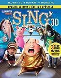Sing [Blu-ray 3D + Blu-ray + Digital HD] (Bilingual)