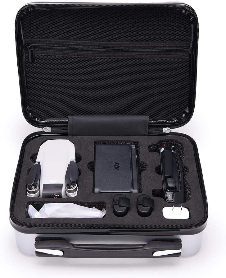 Brackets DJI Yumini Waterproof Drone Storage Bag Waterproof Hard Shell All-Round Package Drone Storage Box Suitcase Adapters and Other Related Accessories. Can Hold Drones Cables
