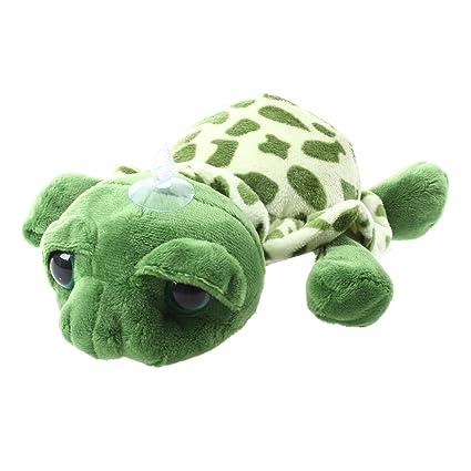 SODIAL(R)Regalo de juguete de muneca de tortuga de peluche con ojos grandes