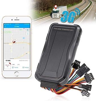 Rastreador GPS para Coche 3G, localizador de vehículos en Tiempo Real, Alarma de Trabajo Acc, Combustible de Corte Remoto, Electricidad, Resistente al Agua, historial de ubicación, Geo-Valla: Amazon.es: Electrónica