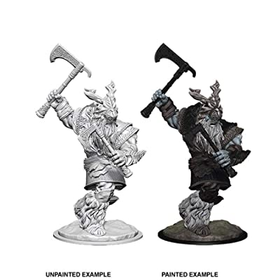 WizKids Dungeons and Dragons Nolzur's Marvelous Miniatures Frost Giant - Male: Toys & Games
