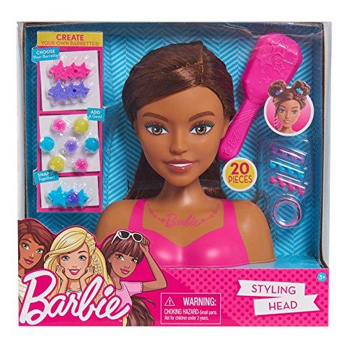 Barbie Small Styling Head - MC (Barbie Doll Black Hair)