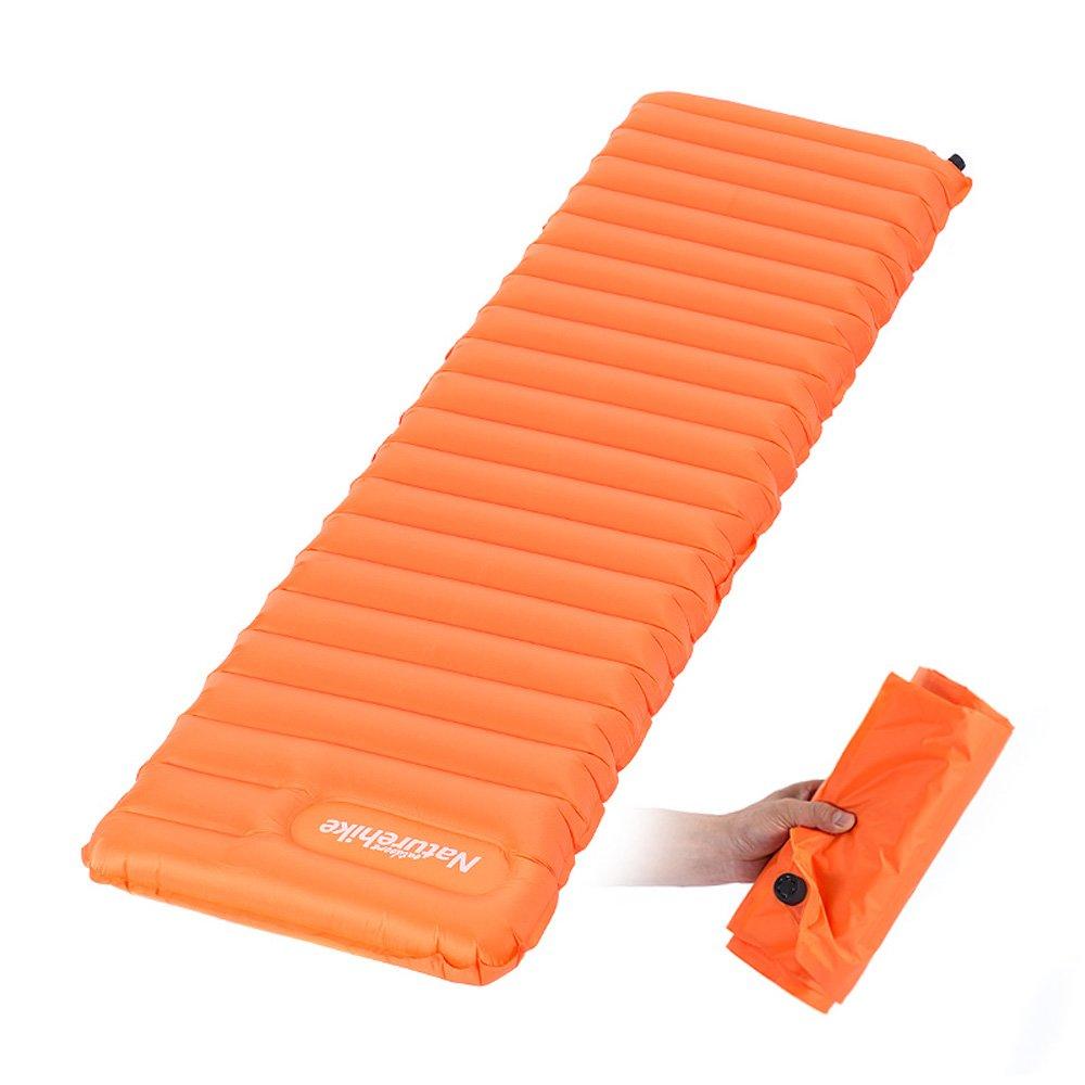 Naturehike Ultralight Manual Inflatable Hand Press Inflating Dampproof Sleeping Pad Portable Tent Air Mat Mattress Outdoor Camping