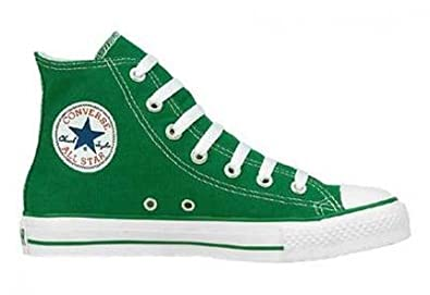 Converse Chuck Taylor All Star Hi Top Toddlers Kelly Green Canvas Shoes  size 3 f499c6223