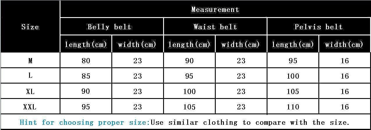Cintur/ón Efectiva Recuperaci/ón Postpartos para Abdomen//Cintura//Cadera Aibrou 3 en 1 Faja Post-Patro Faja Transpirable Maternidad El/ástica