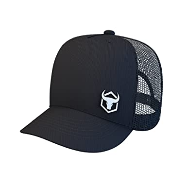 Iron Bull Strength Trucker Hat - Mesh Cap with Adjustable Snapback -  Baseball Caps Hats ( 33ae4183bf9