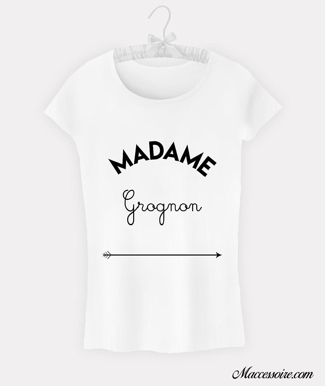 T-Shirt Femme Madame Grognon