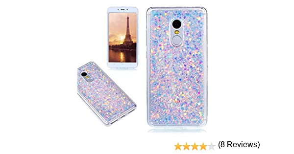 Funda Xiaomi Redmi Note 4, E-Lush Carcasa [Crystal] Bling ...