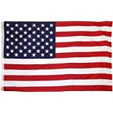 OTLIVE 3x5 Foot Home Garden Flags Printed Stars and Stripes American Flag Polyester