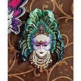 Design Toscano Maidens of Mardi Peacock Princess