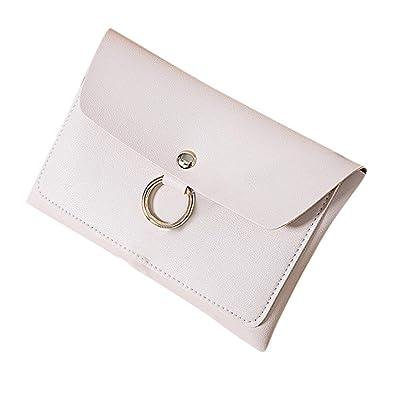 OrchidAmor Fashion Lady Shoulders Small Backpack Letter Purse Mobile Phone Messenger Bag Beige