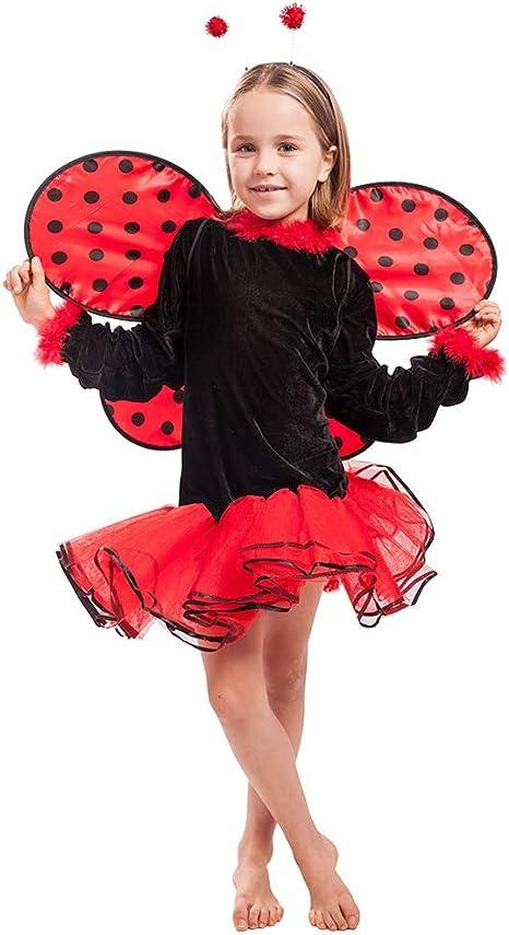 LJLis Theme Fancy Dress Disfraz Infantil De Mariquita, Disfraz De ...