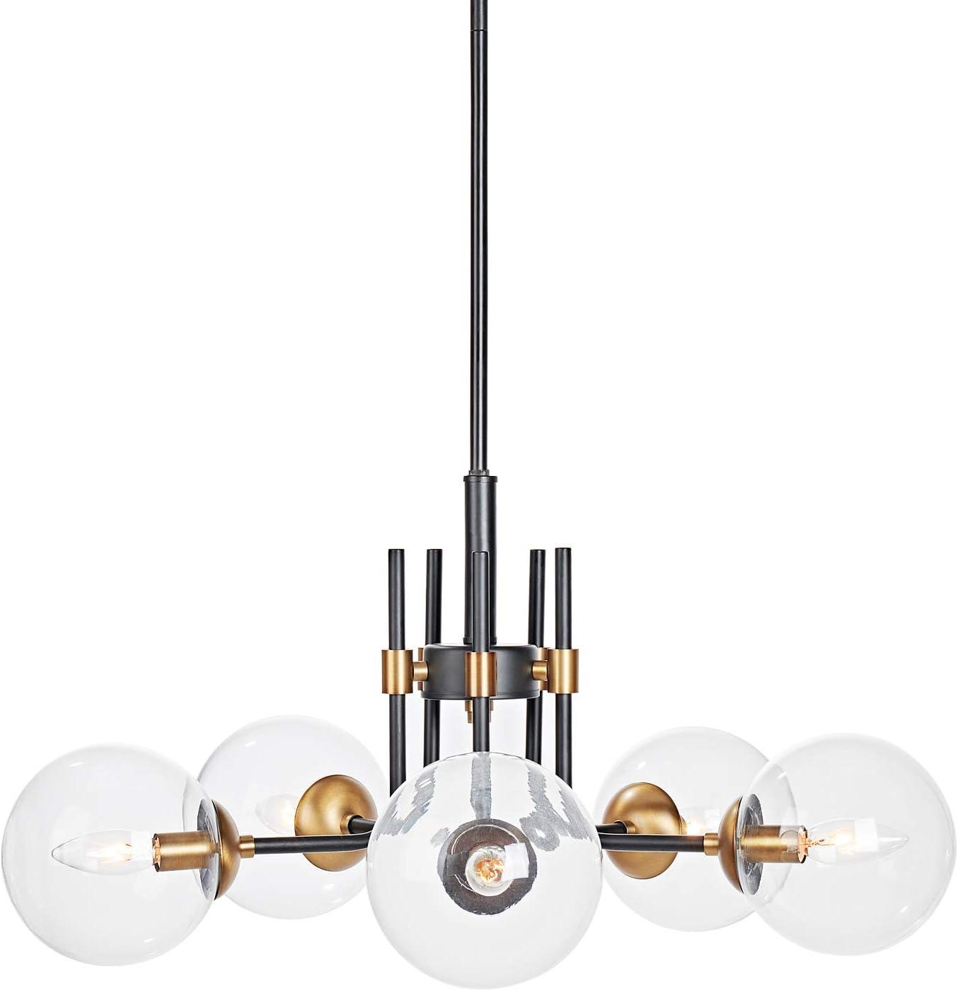 Shop MOTINI 5-Light Sputnik Chandelier from Amazon on Openhaus