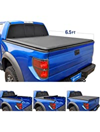 Tyger Auto T1 Roll Up Truck Bed Tonneau Cover TG-BC1D9014 works with 2002-19 Dodge Ram 1500(2019 Classic ONLY)