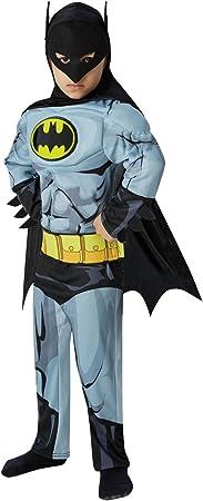 Rubies 610779 Disfraz Oficial de Batman para niños, superhéroe ...