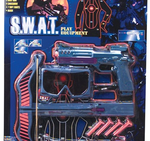 Price comparison product image 4 PC SWAT CROSSBOW AND DART SET, Case of 12