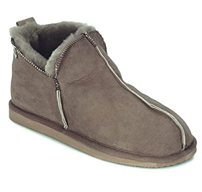 Shepherd Anton, Men's Hi-Top Slippers 100% Sheep Skin (12 UK (