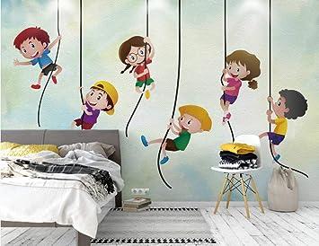Juego De Escalada Infantil De Dibujos Animados Dormitorio Sala De ...