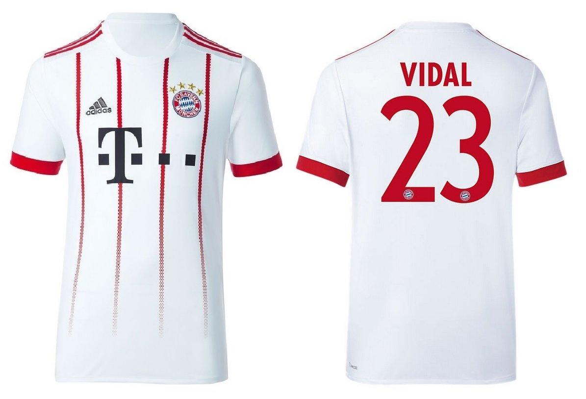 Trikot Kinder FC Bayern 2017-2018 Third - Vidal 23