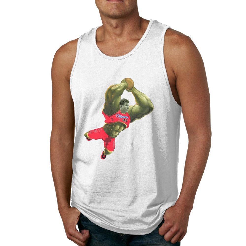 Kim Lennon Men's Blake Hulk Griffin Vest Shirts Brand New White